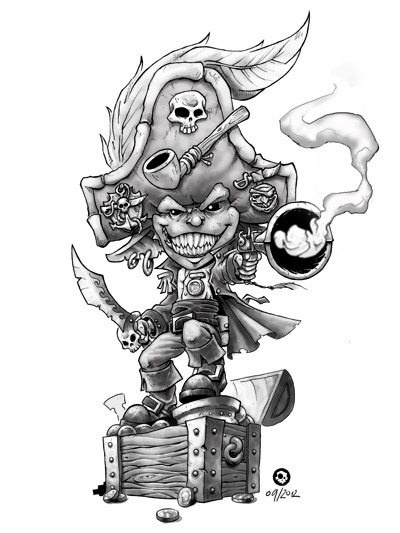 Lotsa indiegogo pirate action.   Freebooters Fate Campaign.  http://www.indiegogo.com/FreebooterLegends?a=911346