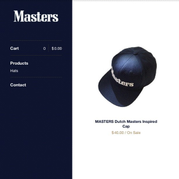 MASTERSNY DUTCH MASTER INSPIRED SNAPBACK. #ICK WEB STORE NOW OPEN FOR A LIMITED TIME! www.mastersny.bigcartel.com