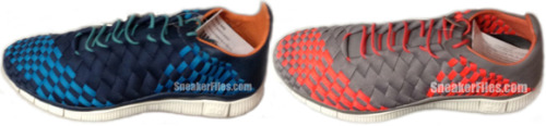 Nike Free Inneva Woven - Summer 2013 two new colourways of the new Inneva Woven coming next summer.  hand woven leather uppers on a Nike Free sole give a nice luxurious feel with practicality. click here for more pics Related articles Nike Inneva Woven Video (hypebeast.com)