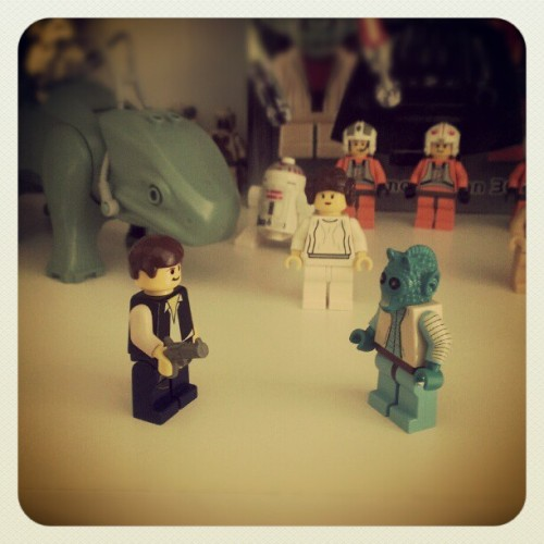 #star_wars #starwars #Lego #Han_Solo #Greedo #dewback #stormtrooper #Princess_Leia #rebel_alliance #HanShotFirst
