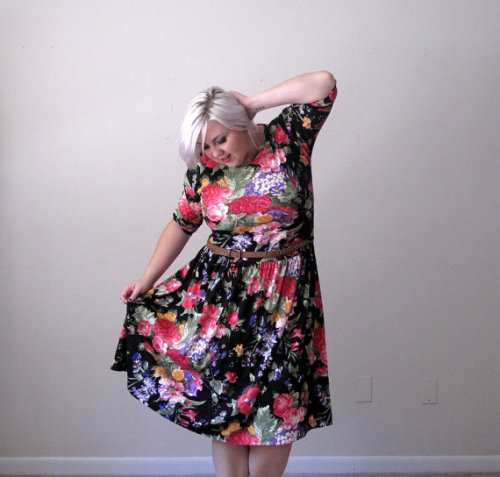 Floral skater dress? I don't want to sell you.