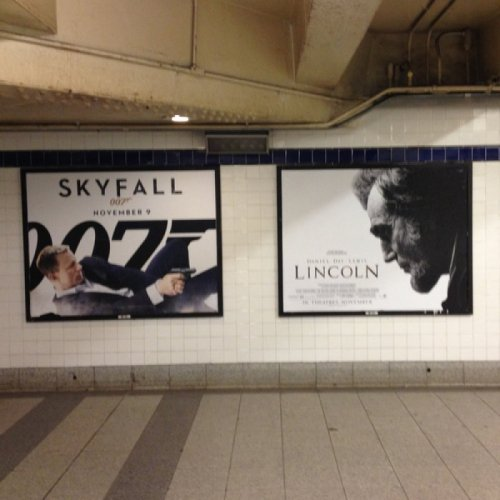 Lincoln CANNOT Catch a Break James Bond prequel?