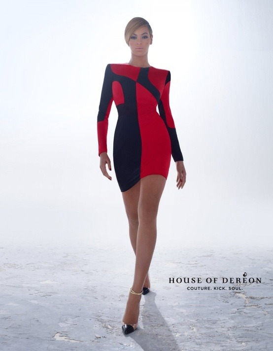Beyonce- House of Dereon Campaign