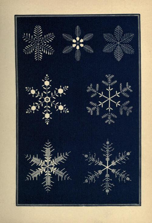 scientificillustration:  Snowflakes a chapter from the book of nature (1863)