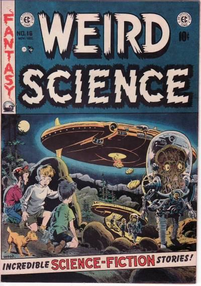 Weird Science #16; 1952 (Art by Wally Wood)