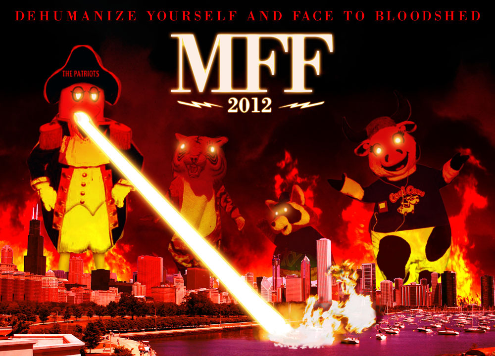 spookdog2000:  IAN JAY NEWS: I'm going to MFF this year?! I am going to MFF this year. Like SPX, it was a seat-of-the-pants sort of thing, but the planets aligned and things worked out. I'll be in Midwest Furfest's Artist Alley from Friday to Sunday, hocking my usual wares.  AMONG THINGS YOU CAN EXPECT ME TO BE SELLING: IAN JAY SUPER COMICS VOL. 1: THE BOOK. These are the very last few copies of my latest print run, and if they sell out in Chicago it's unlikely I'll be able to get them back in stock for a while. BUY WHILE YOU CAN. STICKERS AND BUTTONS. Duh. MINICOMICS. Among things I'll be reprinting are the Epiphany Chapter 3 preview I showed off at SPX and a new edition of Nascar Shoes (which I HOPE you'll take a chance on buying, what with the festive holiday season almost upon us). I MIGHT reprint the Power Animal VHS copies if I find the time and money, but even then they take up a lot of room in my luggage, so  don't bet the farm on it.  COMMISSIONS. I'll be selling my usual spread of commissions and badges, plus a BRAND NEW AS-YET-UNANNOUNCED badge style that I will reveal here later next week!  FREE TRIVIA QUIZZES. Maybe. They didn't go too well at SPX, but they went pretty well at Otakon. I might try to refine them a little more. IN ADDITION, if you want to be wearing a fresh Ian Jay badge THE VERY MINUTE YOU STEP INSIDE THE HOTEL, or if you're just not going to MFF but still want to feel like you're participating, IAN JAY COMMISSIONS are still open! I'm still offering Glitch Badge con pre-order commissions for $20 each, as well as Hi-C, Gilded and Long badges for $25, $30 and $35 each, respectively. I only have seven slots left on my commission roster, so if you want some awesome art, ACT NOW by sending me an ask or dropping me a line at ianjaycommissions at gmail dot com. I'm trying to raise some money to defray airfare and hotel costs, so every little bit is completely appreciated. Are you going? Looking forward to meeting anyone or seeing any events? Got any good restaurant suggestions? (Because man, we really couldn't find anything decent to eat around the hotel last year.) Let's make this year's MFF one Chicago will never forget… no matter how much it so desperately wants to.  Reposting on the art blog.