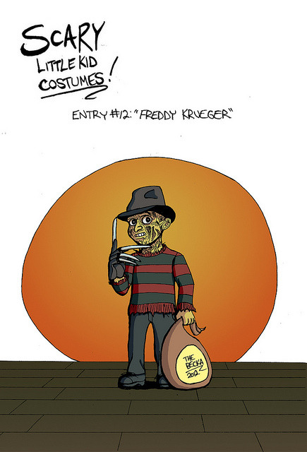 Freddy Kureger on Flickr.1 of 3 new cards for Hallowe'en Comic Fest this weekend.