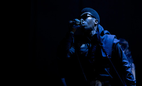 Willis Earl Beal at Hammerstein Ballroom in Manhattan. Photo by Ebru Yildiz— more here.