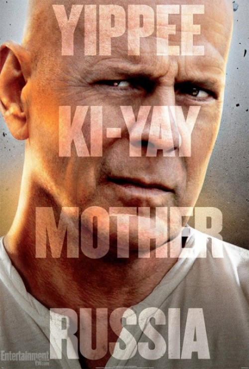 """Yippee Ki-Yay Mother Russia."" Yes, that's the real Die Hard tagline."
