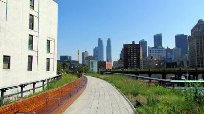 "good:  London's Rushing to Copy New York's High Line Park for Its Economic Effects - by Dave Burdick  I don't know what else could possibly make a city consider plans for a park ""as a public experience and urban mushroom farm,"" but that's precisely the result of a contest called A High Line For London. (For my part, I'd rather luxuriate atop abandoned elevated rail lines than in abandoned subterranean ones, but maybe they'll be laughing in London in 12 years, too—see also the ""Low Line."")   ""[The High Line]  has generated $2bn-worth of private investment surrounding the park and is predicted to exceed $900m in new tax revenues for the city over the next 20 years."" This is why parks in an urban space are important. They spur development, raise property values and oh yeah, improve our quality of life. With that being said, have you seen the innovative proposal for the Hollywood Central Park? The idea is to cap the 101 freeway!"