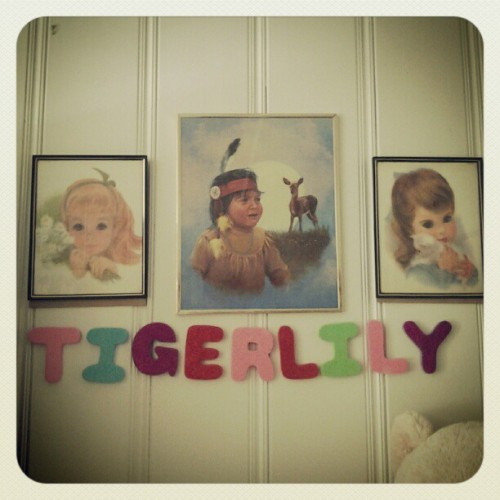 #tigerlily Thanks @mama_makey <3