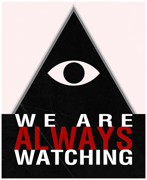 ▲ WE ARE ALWAYS WATCHING †