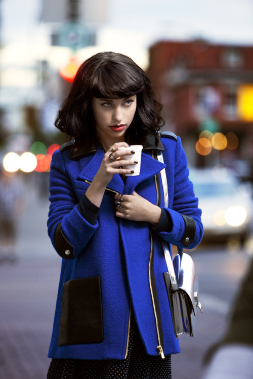 toddcolephoto:  Kimbra for this month's InStyle magazine.