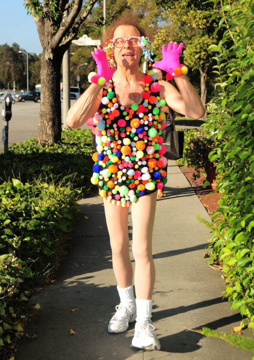 Every day is Halloween for Richard Simmons
