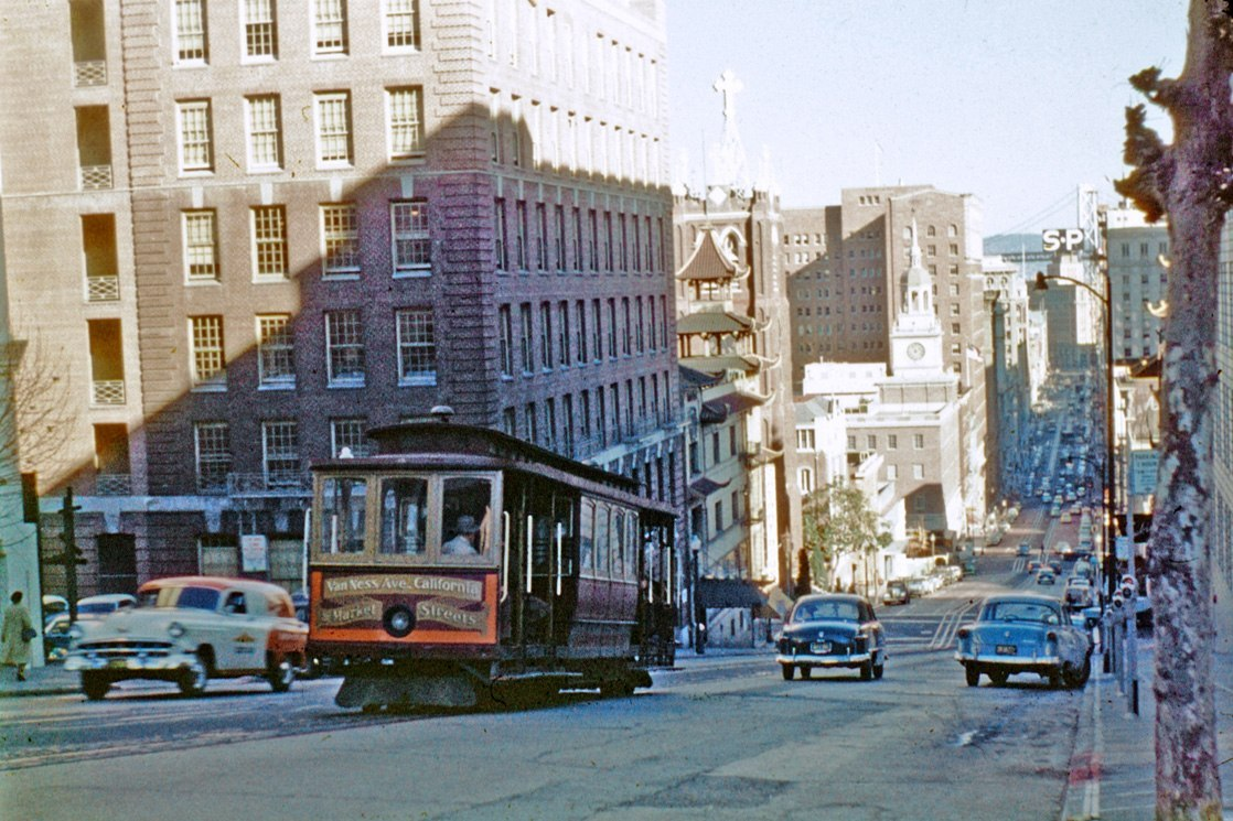 citieslight:  San Francisco, USA, 1958