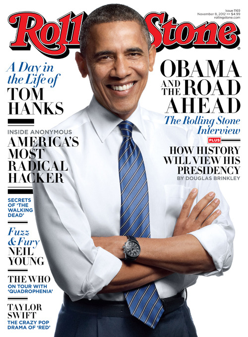 rollingstone:  In our new issue, on stands tomorrow, President Barack Obama sits down with historian Douglas Brinkley and discusses what he would do with a second term.  Read the interview in full at RollingStone.com.
