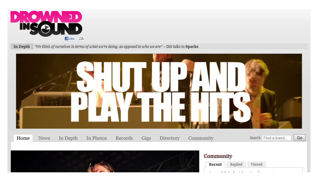 LCD Soundsystem: Shut Up And Play The Hits banner ad (Flash, After Effects) Using After Effects and Flash I created some banner ads for Pulse Films to promote the LCD Soundsystem Movie 'Shut Up And Play The Hits'. The ads were featured on The Guardian, Drowned In Sound, and other sites. You can see the final banner ad here
