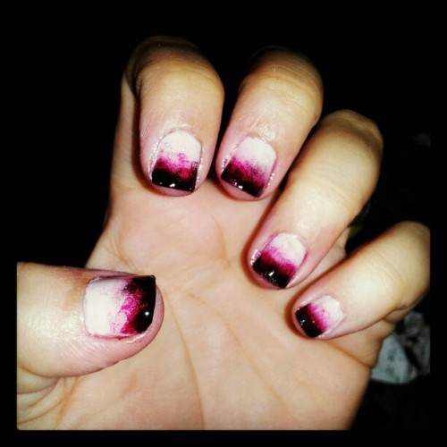 Nails for my costume. Check! #Halloween #blood #nailskills