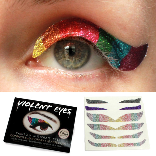 Would you rock these temporary tattoos for your eyes?