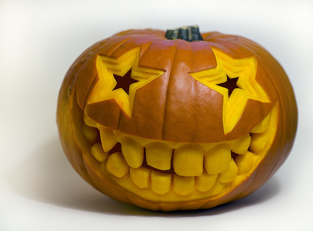 smiley pumpkin by minipixel on Flickr.