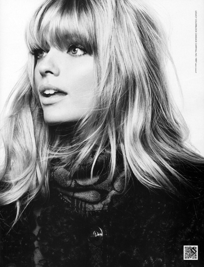 Coach Holiday 2012 Campaign Model: Julia Stegner/WOMEN Ph: David Sims Stylist: Karl Templer Hair: Paul Hanlon Makeup: Diane Kendal