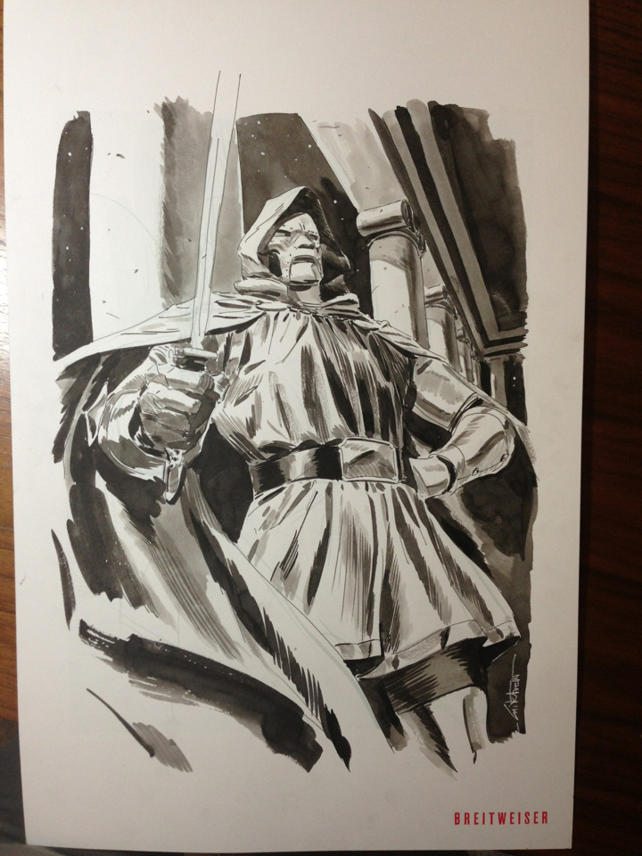 A Dr. Doom commission.