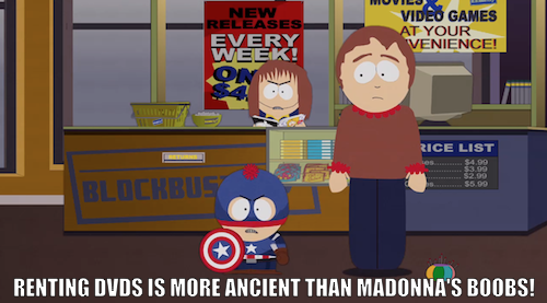 "South Park does The Shining! Click the image to watch last night's Halloween episode, ""A Nightmare on Face Time."""