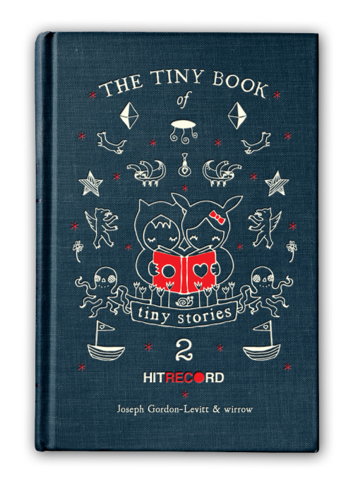 hitrecordjoe:  themadeshop:  So we made another (tiny) book :)  Pre-order your copy today! :oD