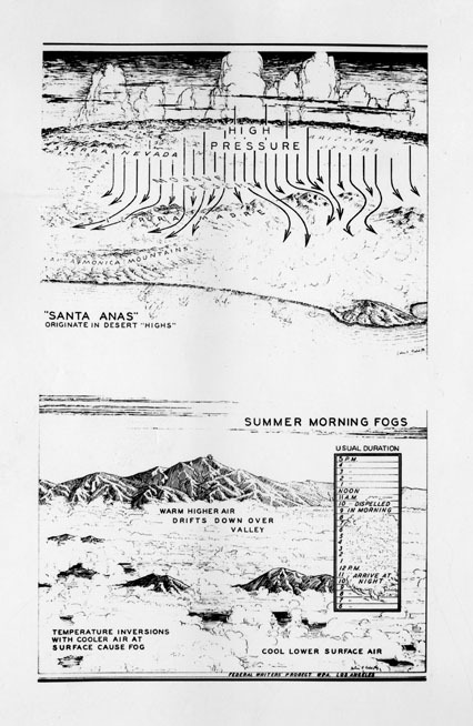 {A primer on the Santa Ana winds and June Gloom, 1938}