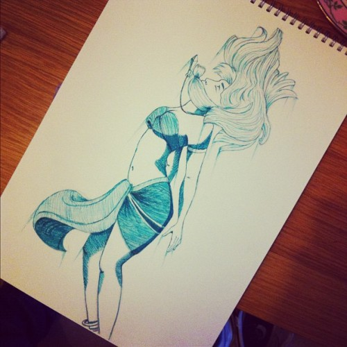 jammyjimjams:  Went over in turquoise pen #disney