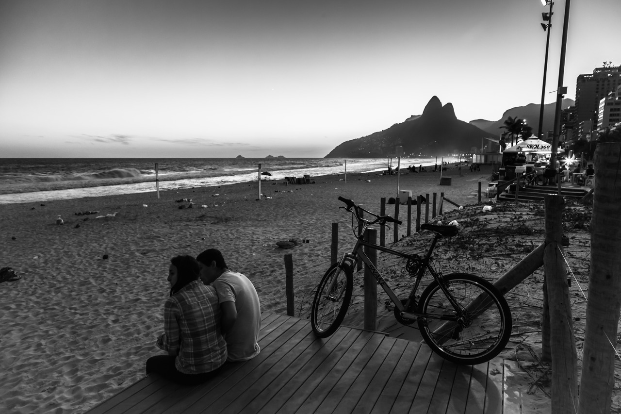 Ipanema Sunset #2 by Ricardo Mavigno