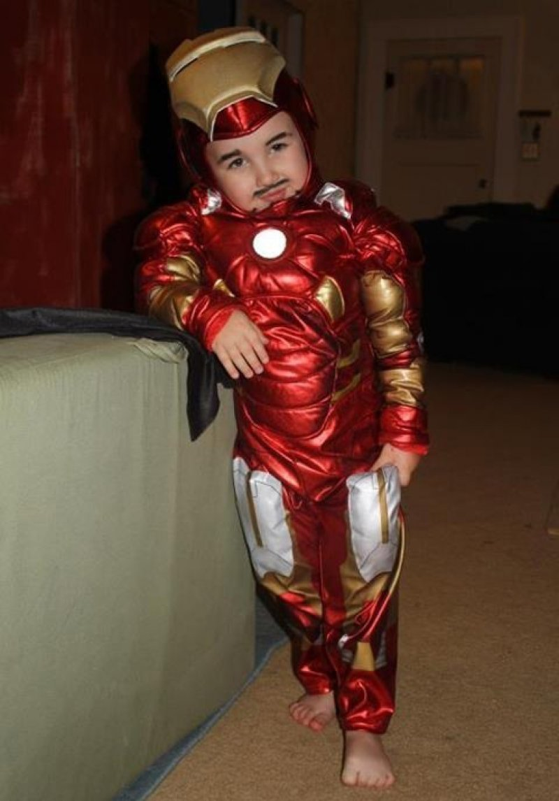 collegehumor:  Tiny Tony Stark Has More Swag Than You You should see his weapons of mass destruction (no you shouldn't, that's totally illegal).