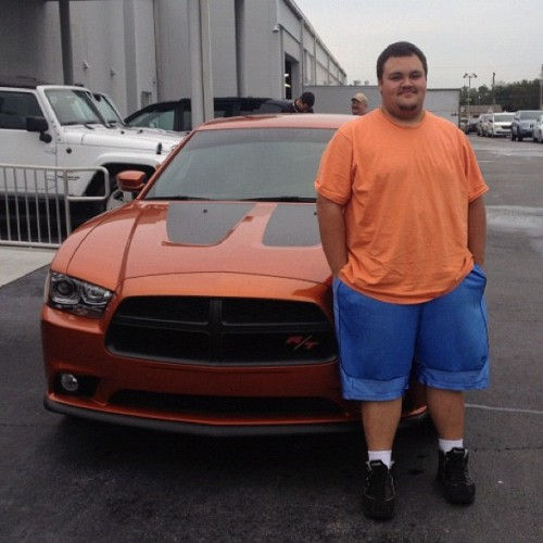 The Lynch's just burned rubber leaving Orlando Dodge, in this Dodge Charger Max R/T! #dodge #orlando #orlandododge #charger #rt #hemi #toxic (at Orlando Dodge Chrysler Jeep)