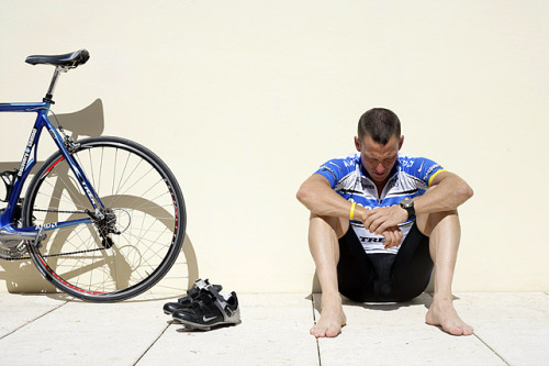 "Oct. 22 — Lance Armstrong stripped of titles On August 23 the U.S. Anti-Doping Agency announced that it was stripping Lance Armstrong of his record-seven Tour de France titles and barred him for life from the sport after concluding he used banned substances. Armstrong said he would no longer challenge USADA and declined to exercise his last option by entering arbitration. He denied again that he ever took banned substances in his career, calling USADA's investigation a ""witch hunt"" without any physical evidence. On October 22 the International Cycling Union (UCI), cycling's governing body, said that it had officially stripped Armstrong of his seven titles and banned him from cycling for life. ""He deserves to be forgotten,"" UCI President Pat McQuaid said of Armstrong. (via Oct. 22 — Lance Armstrong stripped of titles - Biggest Stories of 2012 - Photos - SI.com)"