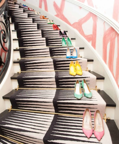 For every step. For every occasion.  (via Kelly Wearstler | The Coveteur)