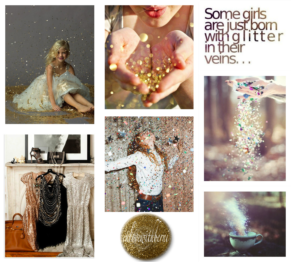 """Some girls are just born with glitter in their veins"".    -Paris Hilton"