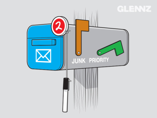 glennz:  Modern Mailbox - Now Voting.   Watch illustration video Visit Glennz Tees  | Twitter  | Facebook  | Flickr  | Behance  | Dribbble