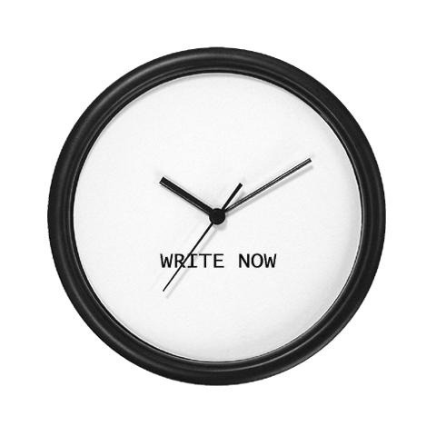 Time to write. (via Writing)