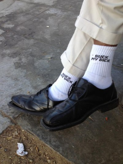 idknowlol:  since you put it on your socks how can i not agree