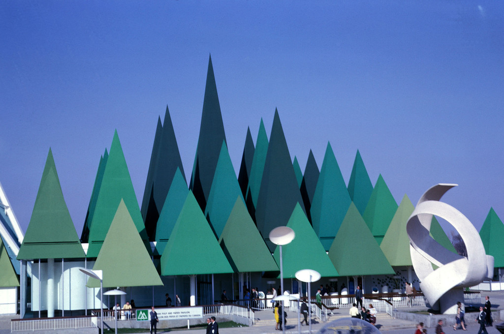 Expo 1967 + amazing architecture here!