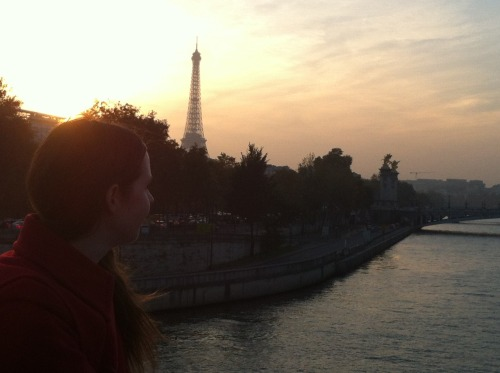 morganmatsonbooks:  today. paris. magic hour.  October 25th