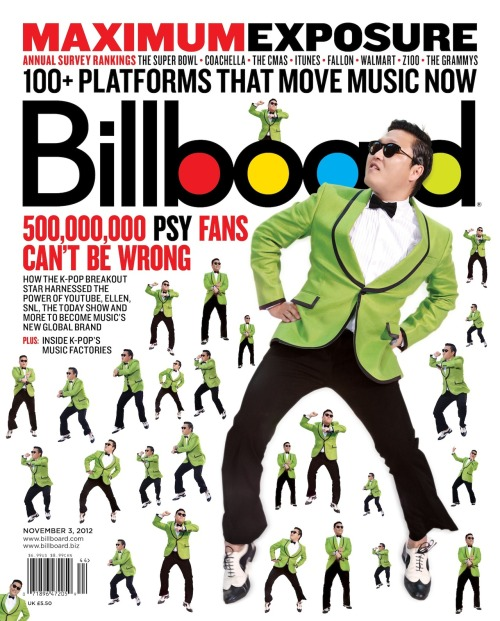 Billboard, November 3, 2012Creative director: Andrew Horton