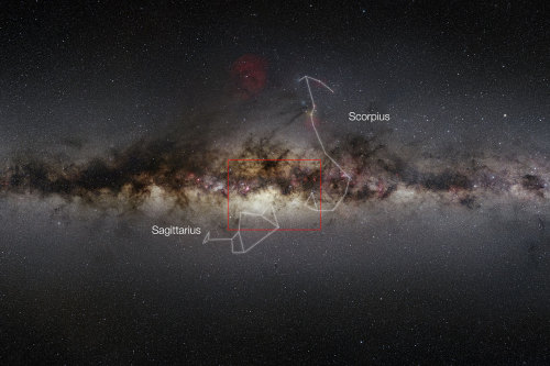 The European Southern Observatory has stitched together a nine gigapixel image of the center of the Milky Way, capturing more than ten times more stars than previous studies.