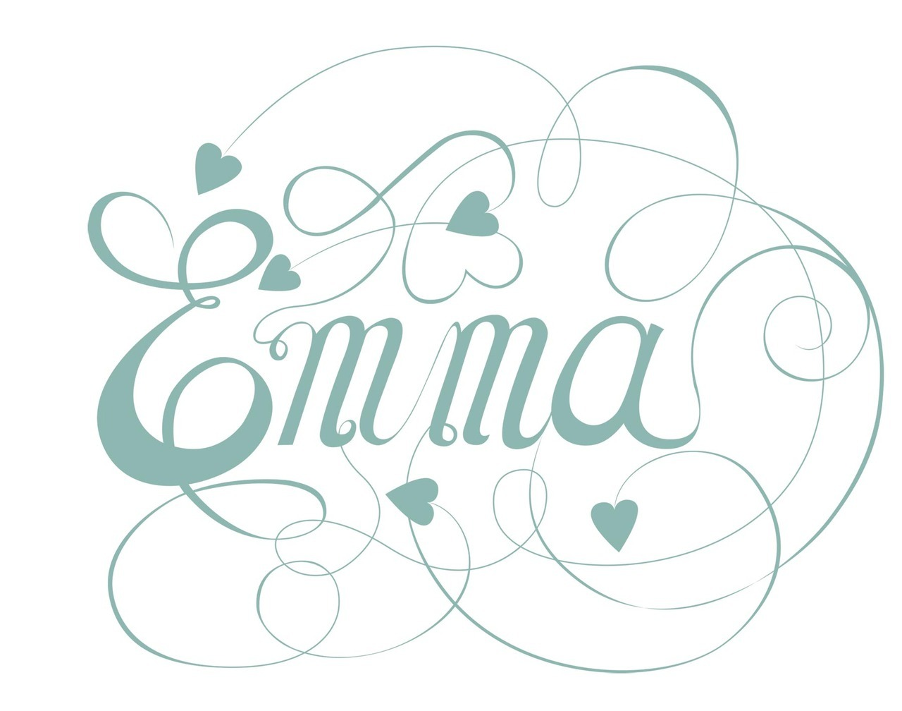 Script type inspired by Jane Austen's Emma.