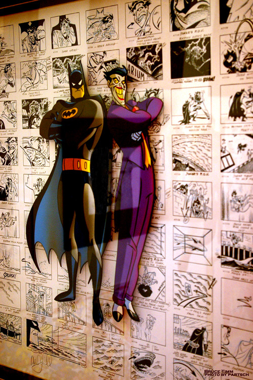 …I miss the Warner Brothers Stores. Bruce Timm & Paul Dini: Storyboard Art from The Laughing Fish: 1994. Warner Brothers Store: Atlanta. New York. Las Vegas. Orlando. Los Angeles.