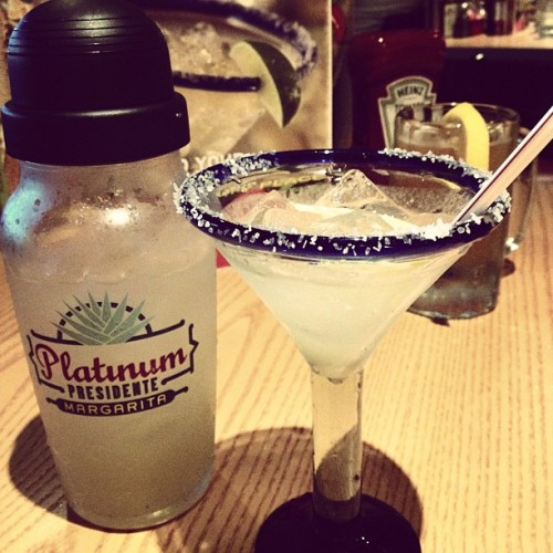 #margarita #chilis #platinumpresidente #tequilla