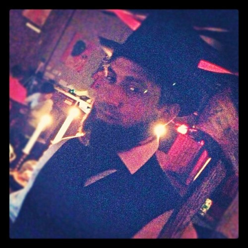16th POTUS, @russelq - Vampire Hunter (at Underbelly)
