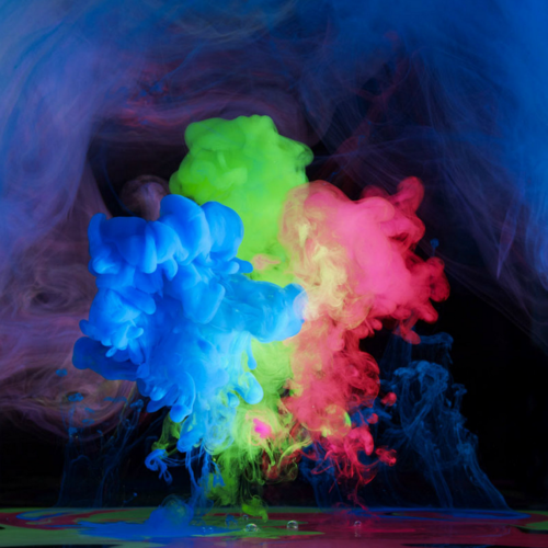 colorfull smoke