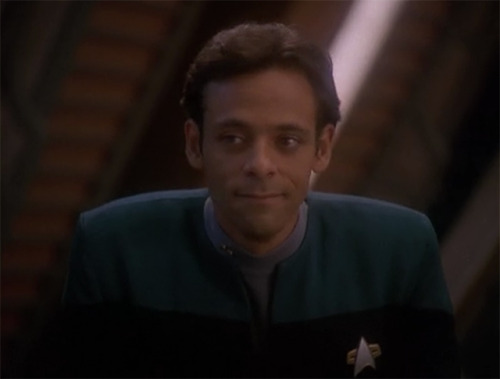 """'Show no fear!' That's my motto."" - Julian Bashir"
