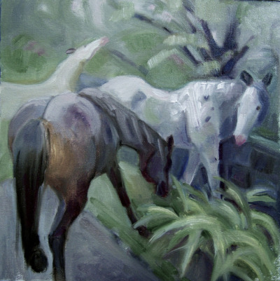 alongtimealone:  horses2, WIP (by mariah…away)